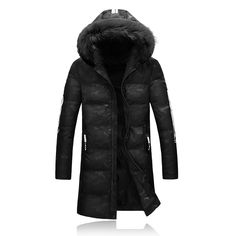 73.67$  Watch now - http://ali6go.worldwells.pw/go.php?t=32772903215 - 2016 new style of winter Men's fashion leisure printed cotton quilted jacket A man with thick winter jacket coat  Men's Parkas  73.67$