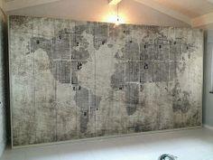 Mazzali Wallpaper Wardrobe Armadio Tappezzato
