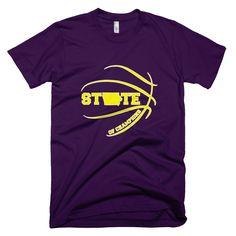 State of Champions Iowa Basketball T-Shirt