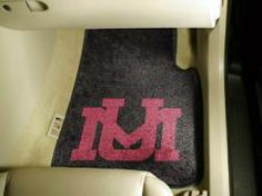 NCAA - Car Mats 2 Piece Front - University of Montana.  Buy it @ ReadyGolf.com