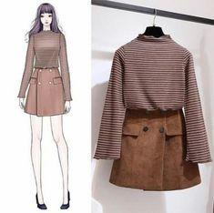 66 New Ideas For Fashion Dresses Source by Fashion outfits Korean Fashion Trends, Korean Street Fashion, Korea Fashion, 70s Fashion, Asian Fashion, Look Fashion, Trendy Fashion, Girl Fashion, Fashion Dresses