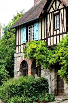 Veules les Roses, Normandie, France