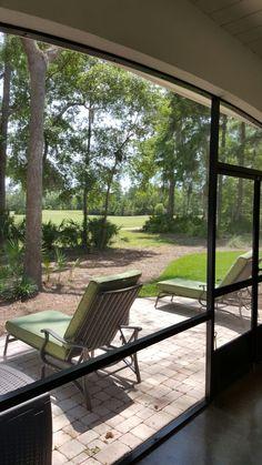 Patio Golf Course View