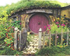 Hobbit front yard garden