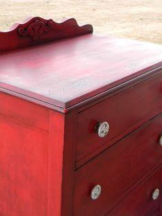 Un mueble rojo china 2