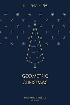 MINIMAL GEOMETRIC CHRISTMAS graphic set contains 60 isolated elements and 16 pre-made compositions. The set also includes a bonus - 12 seamless patterns. The graphics are perfect for greeting cards, invitations, Christmas wrapping papers, gift tags, paper bags, packaging, stationeries, social media posts, websites, posters, and more. The possibilities are endless!