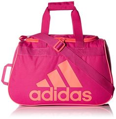 adidas Diablo Small Duffel, Bold Pink/Flash Red Pink, One Size
