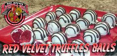 Red Velvet Truffles Balls: Valentine Collab All About Red & Some Treats
