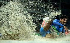 Bilder in höchster zeitlicher Auflösung: Wenn beim Weitsprung der Sand spritzt…