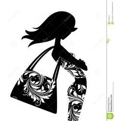 Fashion Silhouette Stock Photos - Image: 31643813