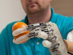 Dennis Aabo Sørensen of Denmark has become the first amputee in the world to grasp objects and feel – in real time – with a sensory-enhanced prosthetic hand that has been surgically wired to nerves in his upper arm.