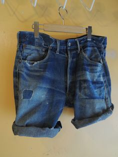 1930's FOREMOST cut-off jeans