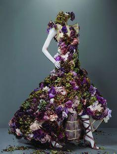 Mcqueen flower dress #FlowerShop