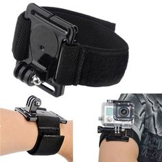 Adustable Velcro Arm Wirst Strap Mount for Gopro Go Pro Hero 1 2 3 3+ Cam Case