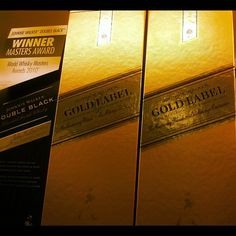 Photo by trinitygram - Johnnie Walker Gold Label baby!