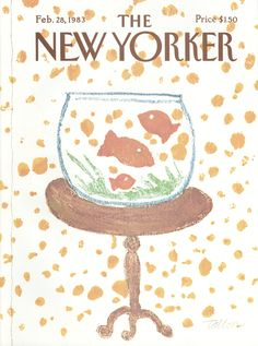 The New Yorker - Monday, February 28, 1983 - Issue # 3028 - Vol. 59 - N° 2 - Cover by : Robert Tallon