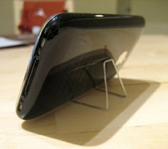 iphone stand by whitney tesler, via Flickr
