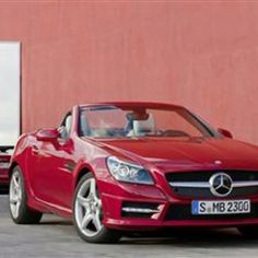 Blazing HOT Red Mercedes Benz will burn up the road!#Repin By:Pinterest++ for iPad#