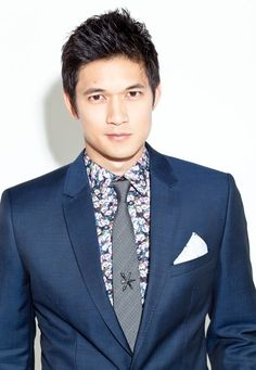 Harry Shum Jr. or Godfrey Gao. I 'm not sure which one I like better (to play Magnus Bane)