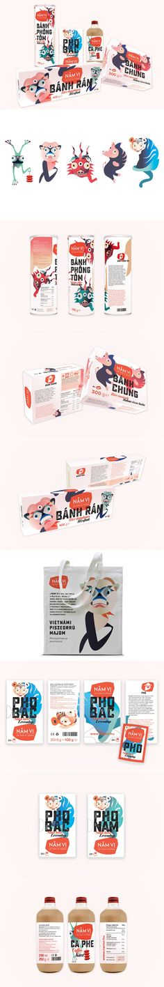 These Conceptual Food Products Represent Aspects of Vietnamese Culture in a Funky Way — The Dieline | Packaging & Branding Design & Innovation News