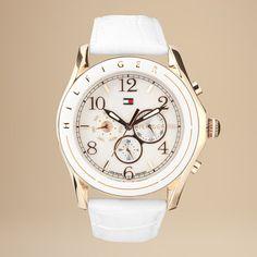 Reloj Tommy ionizado oro