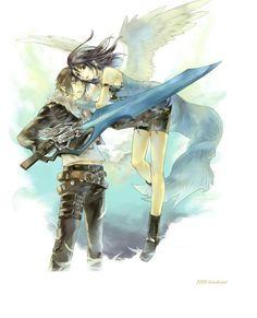 Squall & Rinoa Final Fantasy VIII