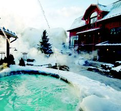 # 1 Quebec Nordic spas directory - Visit our website for our complete list of the Nordic spas in Quebec by region with packages, photos and spa tips. Beyond Beauty, Canada Eh, Montreal Canada, Spring Nature, Hot Springs, Places To Go, Relax, Mansions, House Styles