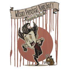 Don't Starve- Wilson Percival Higgsbury