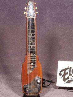 Fender Princeton Lap Steel. 1948. Still have this. It's a wiz!