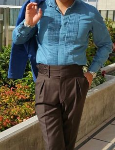 Formal Pants, Stylish Mens Outfits, Parachute Pants, Nostalgia, Men's Fashion, Trousers, Traditional, Studio, My Style