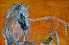 Del Sol by artist Jani Freimann - #horse #art #equine #painting