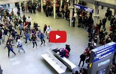 Living the Dream is a performing arts company run by young people for young people. On New Year's Eve over 100 of Living the Dream's young dancers amazed commuters with a Flash Mob performance!