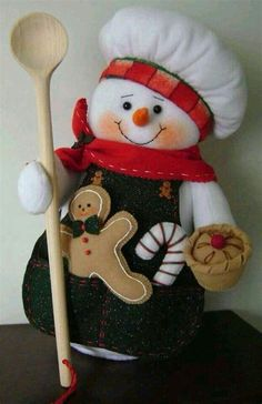 Snowman Crafts, Christmas Projects, Felt Crafts, Decor Crafts, Diy And Crafts, Christmas Crafts, Christmas Decorations, Christmas Sewing, Christmas 2017