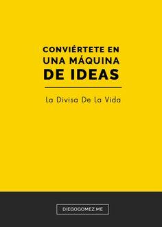 Las grandes ideas suelen estar soportadas sobre otras ideas y eso incluye a las malas ideas.