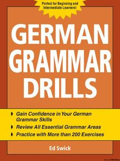 German grammar workbook (exercises)