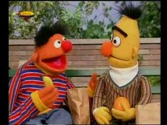 Bert & Ernie - Fruitvriendjes