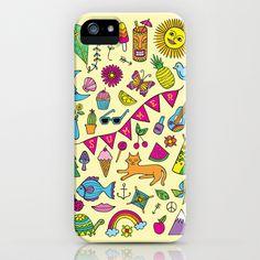 Summer Fun iPhone & iPod Case by Rachel Beyer