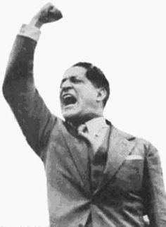 Jorge Eliecer Gaitan - El Bogotazo (The Bogotazo) 9 de abril de 1948. Colombian politician. Hero of Colombia.
