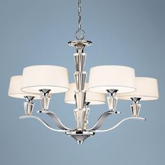 Crystal Persuasion 5-Light Chandelier