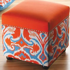 I could cover my black leather stools with fabric--but something I can take off and not hurt the leather.