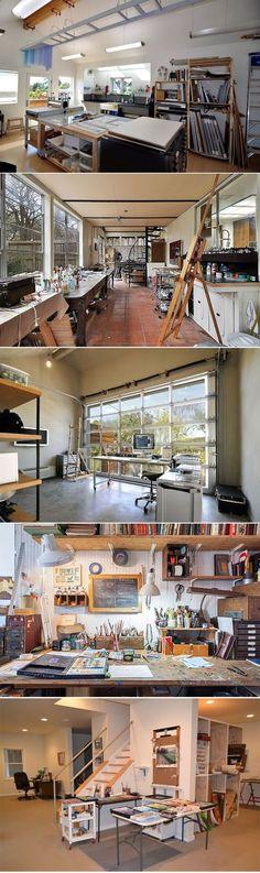 Creative Home Studio / Workspace idea