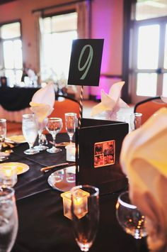 DIY wedding centerpieces from Dan & Maria's Leesburg Virginia wedding at Lansdowne Resort. Images by ZADesignz.