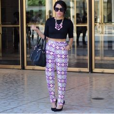 Neon Printed Pants These are UK size 6 which is equivalent to US size 2. Worn once for fashion week. Super bright and fun printed pants. Front zipper and clip enclosure. Pockets. Middle pleat down front of both pant legs. Zipper at ankles. Polyester. Missguided Pants Trousers