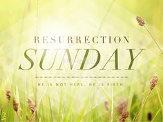 Resurrection Sunday He is Risen Easter PowerPoint Graphics ...