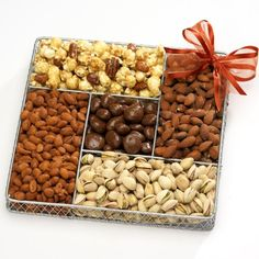 Broadway Basketeers Gourmet Nut Gift Basket for Your Valentine $26.21
