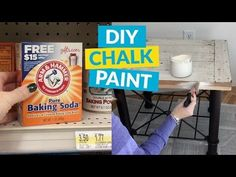 How To Make Chalk Paint With Baking Soda | Hometalk
