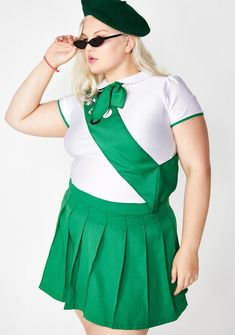 Burlesque Plus Size Halloween Costumes For Women Halloween Costumes Plus Size, Police Halloween Costumes, Pirate Costumes, Halloween 2019, Halloween Ideas, Cheerleader Costume, Cheerleading Outfits, Girl Scout Costume, Costumes For Women