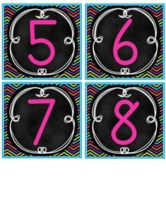 I love Chevron! This year I will be decorating my classroom in a bright Chevron theme. Here are the table numbers that I will be using. Classroom Table Numbers, Classroom Layout, 4th Grade Classroom, Classroom Freebies, Classroom Supplies, Classroom Posters, Classroom Design, Classroom Themes, Classroom Organization