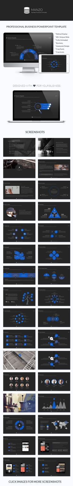 Manzo Powerpoint Template