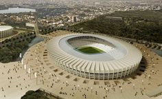 Stadium in Belo Horizonte, Brazil. World cup 2014, I'm gonna be there.